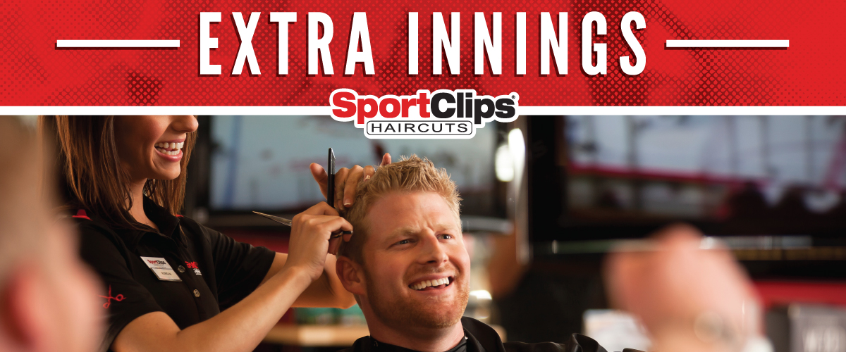 The Sport Clips Haircuts of Southshore Shops Extra Innings Offerings